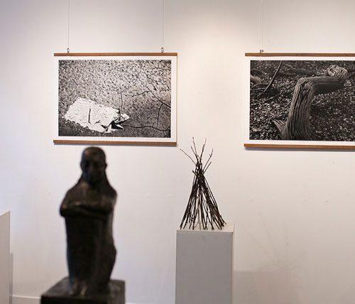 Sort/hvid-udstilling