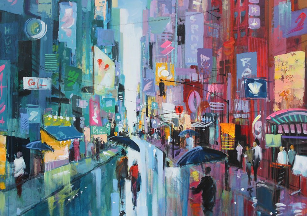 Manhattan-maleri