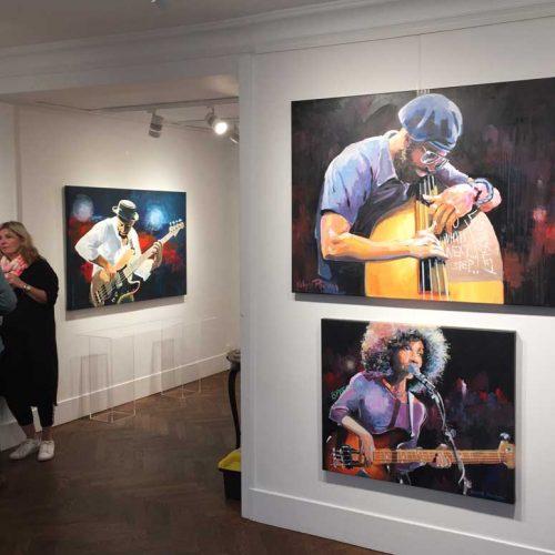 Musikermalerier