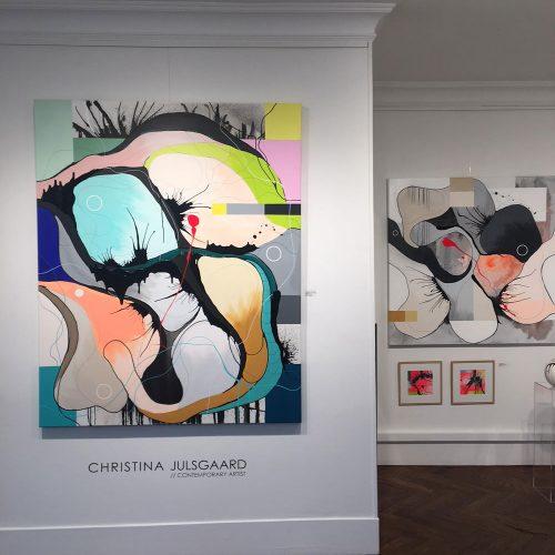 Christina Julsgaard malerier